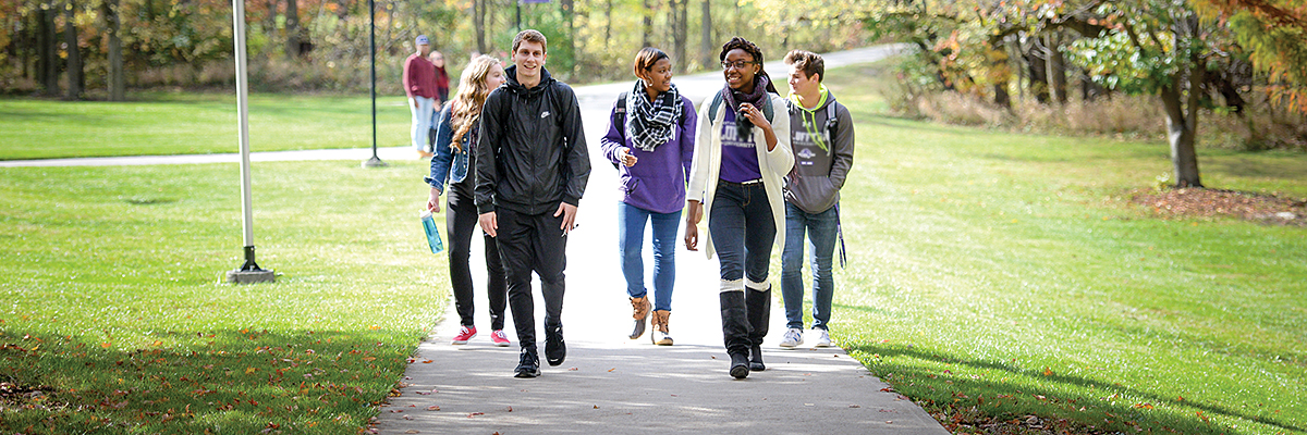 The campus tour is an important part of your college visit.
